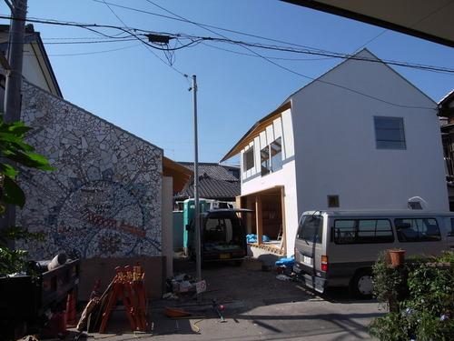 加藤先生の家正面