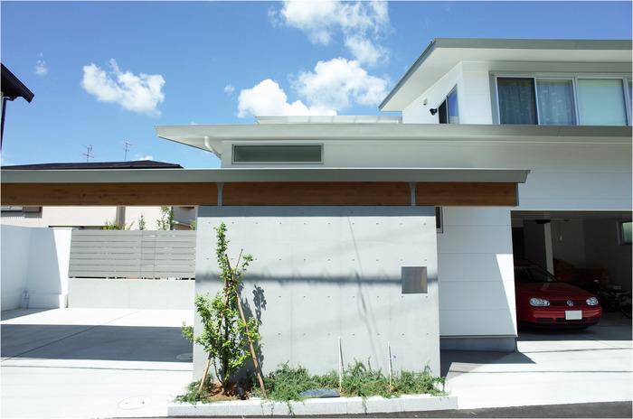 engawa garage白線2