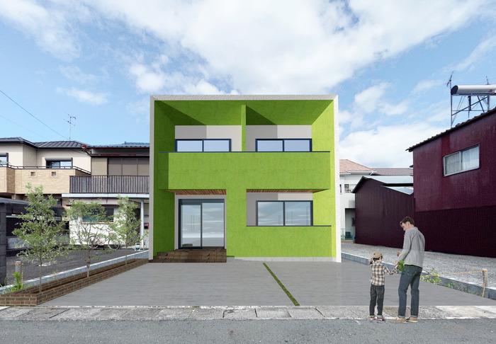 永楽町アパートメントCG3green