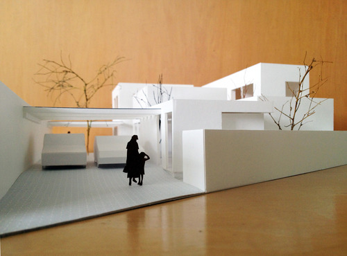 宮本邸模型写真1