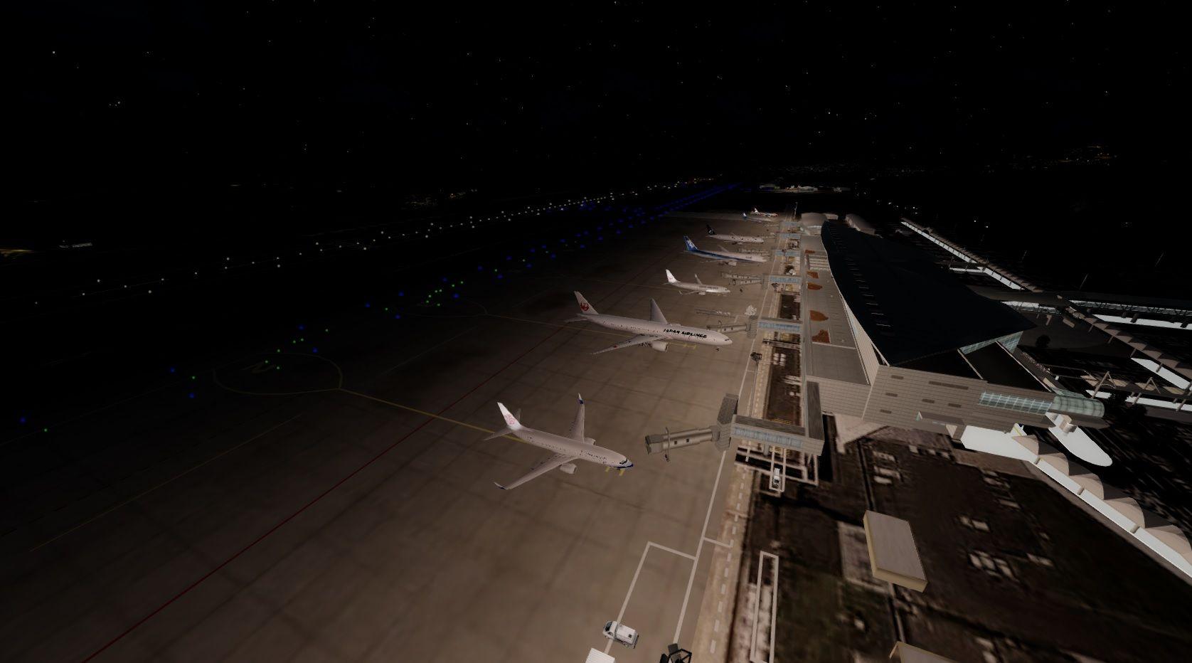 FLYER : Flyer Scenery Update P3D V4版