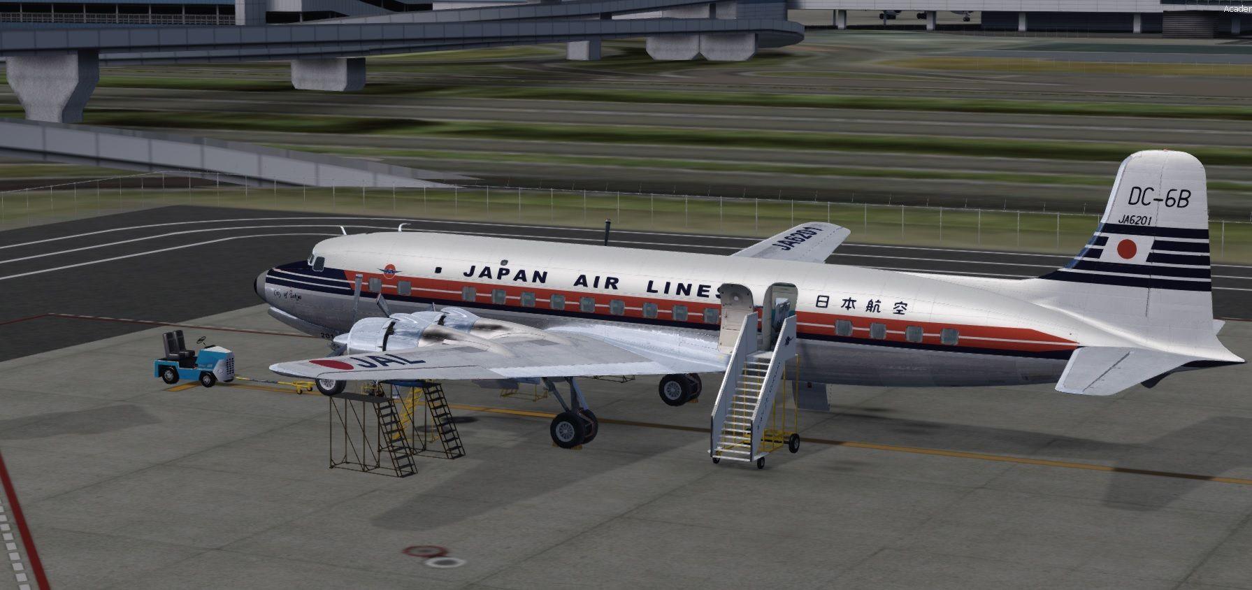 FLYER : PMDG DC-6