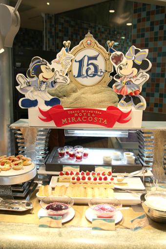 【TDS2016May/その2】オチェーアノの15周年スペシャルブッフェ♡お料理編♡