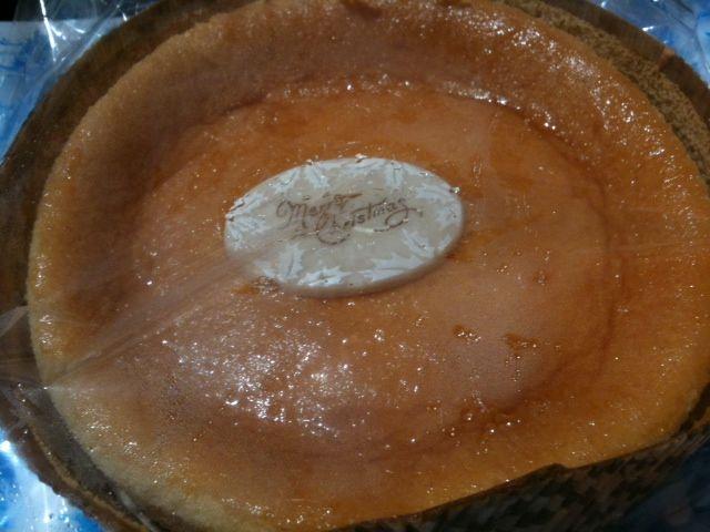 【クリームテラスエスタ店】チーズケーキ(ヨコ)