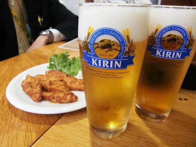 福里 長芋とビール