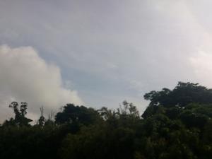 20130616夕方の空