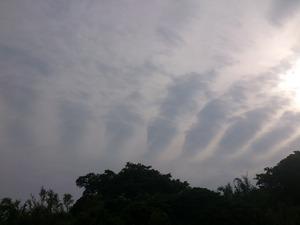 20130607夕方の空