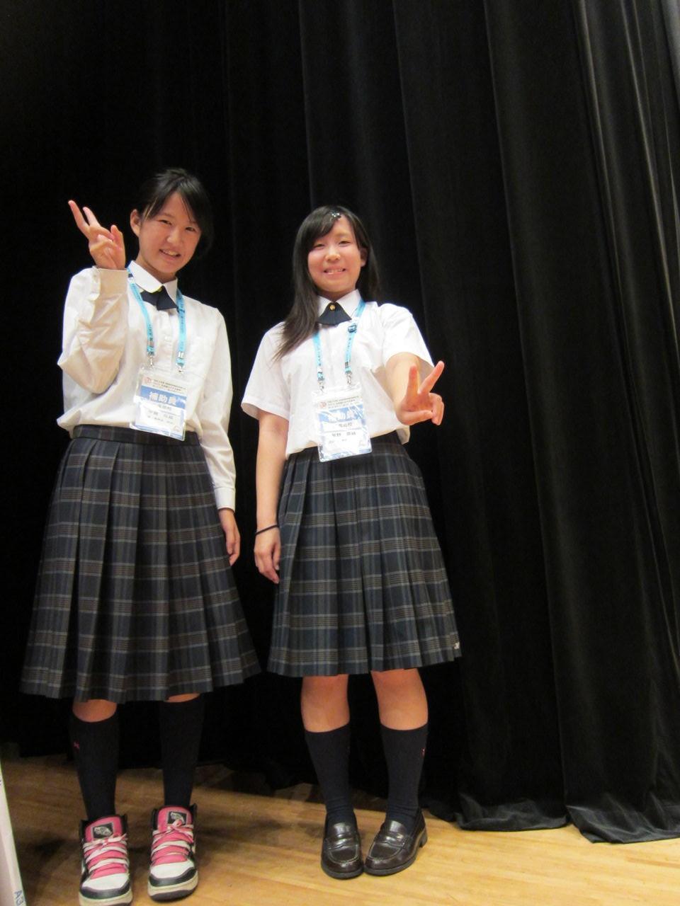 八海高等学校制服画像