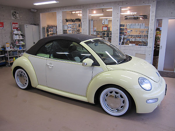 nb1 cabriolet jaune pastel retro look forum new beetle coccinelle. Black Bedroom Furniture Sets. Home Design Ideas