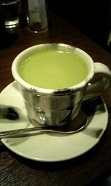 抹茶ラテ♪