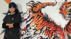 勝海麻衣のライブアートに別作家が酷似の指摘、盗作疑惑