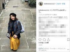 """元貴乃花親方と離婚の河野景子 フジ完全復帰""""不可能""""の原因"""