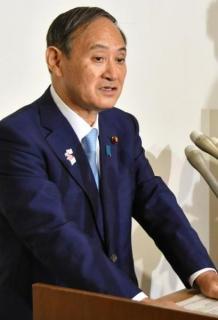 韓国の竹島軍事訓練、菅長官「受け入れられない」
