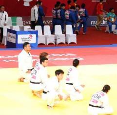 柔道団体戦で大混乱 3勝3敗で日本勝利も…韓国座り込み抗議