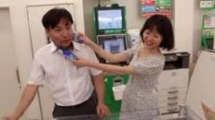 韓国カップルが大阪のファミマでの不衛生行為動画をUP