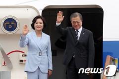 韓国・文大統領、きょうフィンランド首脳会談