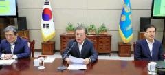 韓国 文氏、日本の輸出規制強化を批判 措置撤回と協議求める