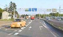 パトカーが追跡の車 国道を1キロ超逆走し逃走 北海道 七飯町のイメージ画像