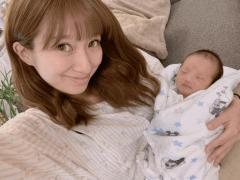 辻希美、新生児との初2ショットに批判殺到