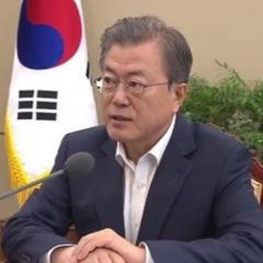 文大統領、新天皇陛下に祝電「日韓・友好的発展のために関心を」