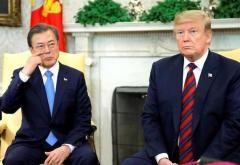 """文大統領""""屈辱"""" 米韓首脳会談たった「2分」ほぼ成果ゼロか"""