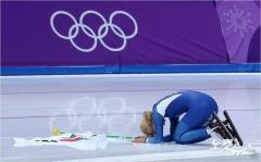 韓国女子スピードスケート選手キム・ボルムが会場で土下座