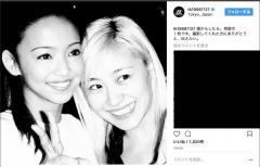 安室奈美とKEIKOの奇跡2ショット写真を小室哲哉が公開!