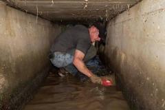 【西日本豪雨】米海兵隊大佐、排水溝に入りボランティアしていた
