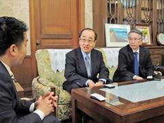 タカタ事業継承「雇用確保へ努力」 滋賀で日本法人社長