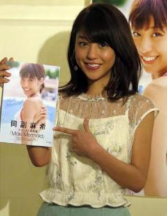 岡副麻希アナが初ビキニ披露、恥ずかしさと爽快感