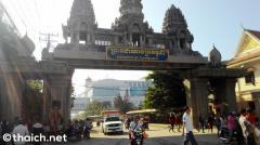 カンボジアで日本人2人をタクシー強盗殺人の疑いで逮捕、タイから入国