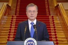 韓国 世論45% 文政権 日本への対応「さらに強硬」を求める声