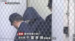 女性の車のドアノブに体液をかけた疑い 28歳男逮捕 茨城