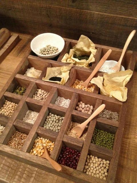 客家擂茶の原材料