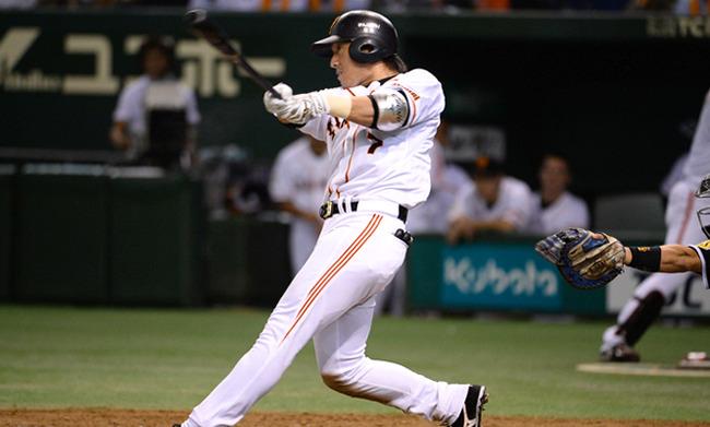 巨人・長野久義(30) .251 15本 52打点 OPS.725