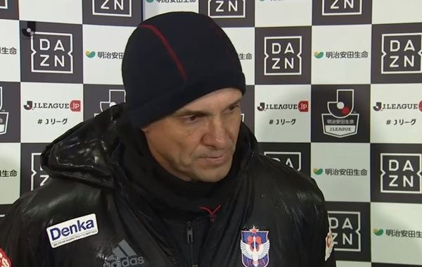 J2降格が決まったアルビレックス新潟の呂比須ワグナー監督が辞任を示唆 「2部に落としてしまった責任をとらないと」