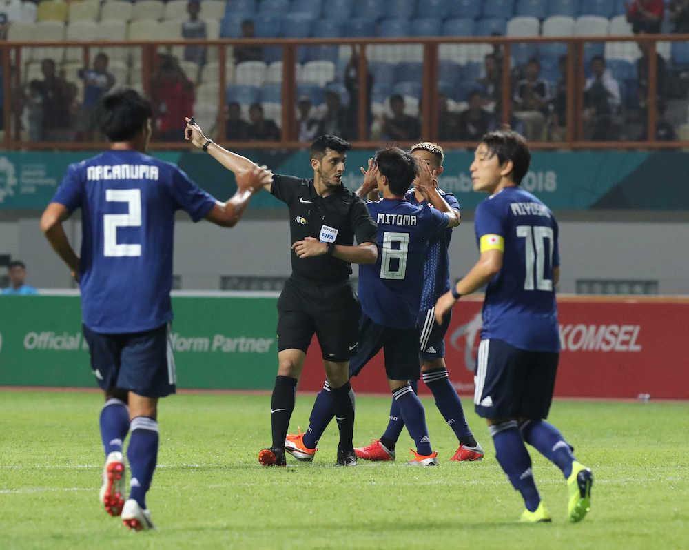 【アジア大会】日本初戦はネパールに辛勝 筑波大MF三笘薫の先制ゴールで逃げ切る
