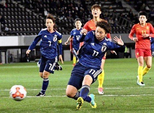 【E-1選手権】なでしこジャパンは田中の2戦連続弾で中国に辛勝 最終戦は北朝鮮との優勝決定戦に