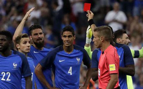フランス、ヴァラン退場でもイングランド撃破…デンベレが決勝弾