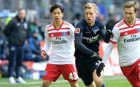 伊藤が6戦ぶり先発復帰も…降格危機HSVは逆転負けで14試合未勝利