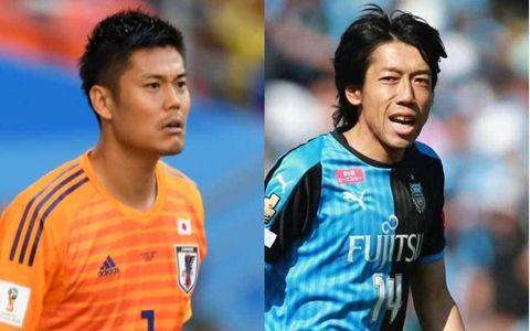 中村憲剛、日本代表GK川島永嗣と笑顔の旧友2ショット…「練習生来てました。笑」