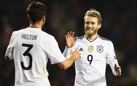 ドイツ、シュールレ2発などで4ゴール大勝…W杯予選5戦全勝で首位堅守