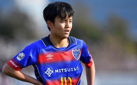FC東京のU-20代表FW久保建英はベンチスタート、途中出場でトップデビューなるか