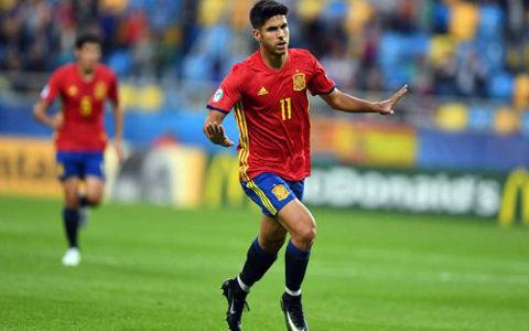 アセンシオがハット…スーパーゴール連発のスペインがマケドニアに快勝!
