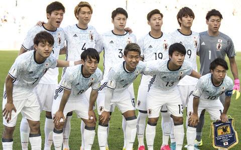 U20日本代表対イタリア代表、先発メンバー発表