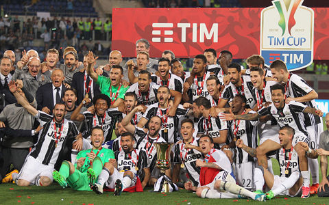 ユーヴェが史上初のコッパ・イタリア3連覇!ラツィオ撃破で12回目の優勝達成