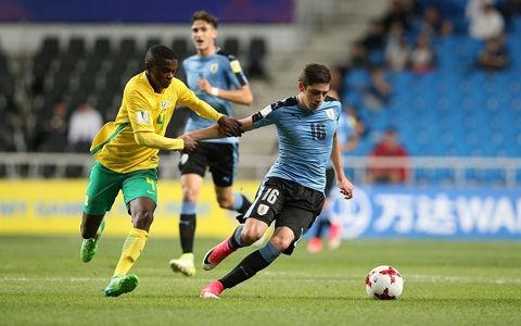 U-20ウルグアイが南アフリカとドローで首位突破!日本は3位で決勝Tへ