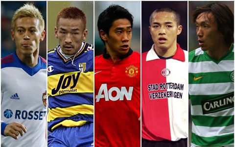 中田英、俊輔、本田、小野、香川──。日本人選手「推定市場価格」の歴代ナンバー1は誰だ!?