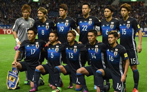 W杯アジア最終予選…日本代表対タイ代表、先発メンバー発表
