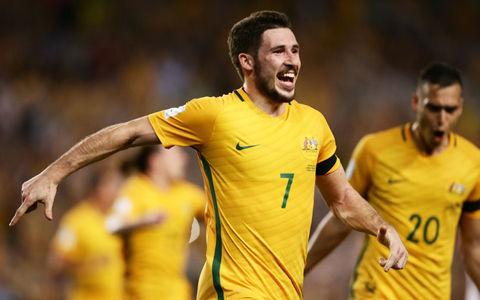 オーストラリア、得意のCKから2発完勝…敗れたUAEは2連敗でW杯遠のく
